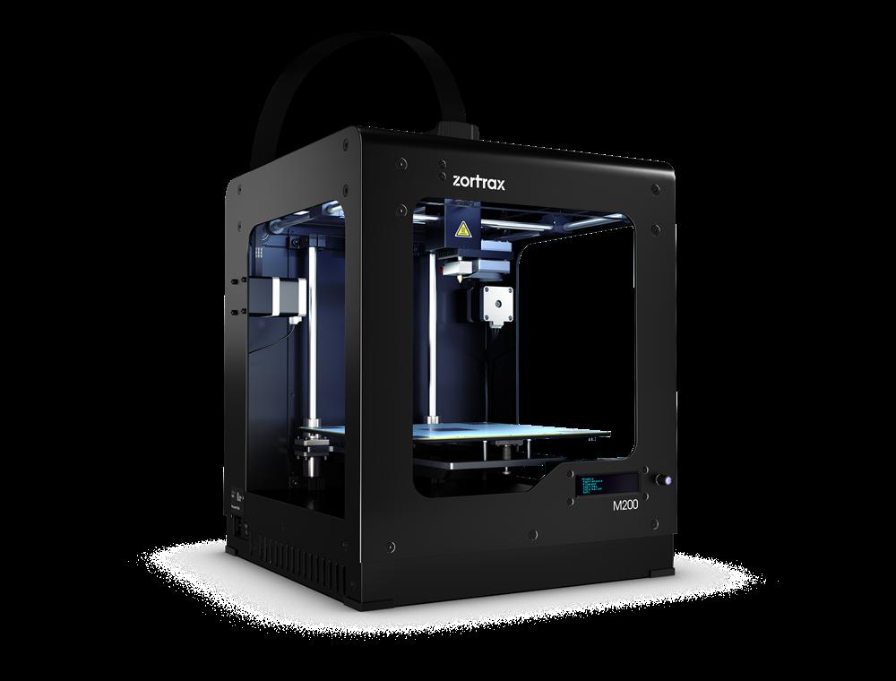 Úspešná trojrozmerná tlač na 3D tlačiarni Zortrax už nie je otázkou dlhodobého vzdelávania.