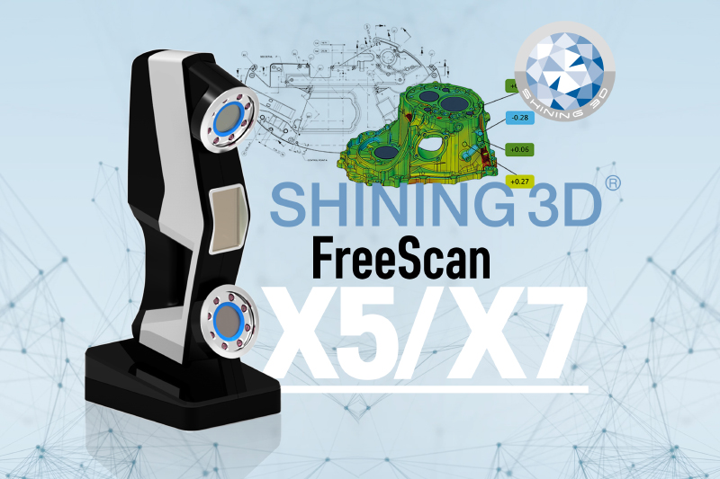 Shining3D FreeScan X5/X7